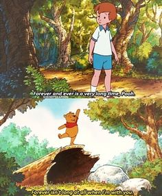 Christopher and Pooh