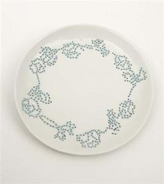 Hella Jongerius  Embroidered plate, 2000