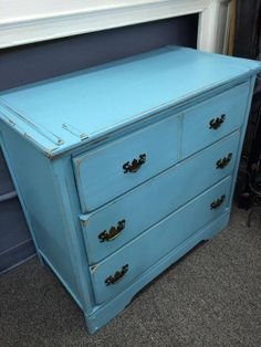 Vintage 3 drawer dresser 33W x 17.5D x 31.5H  solid by SimplyParis, $249.00