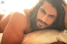 Vishal Raj. He raises my BP. Roll over to see him in the morning? YES PLEASE!!!!