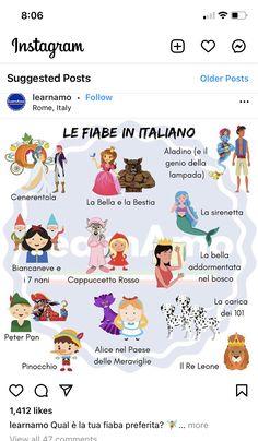 Italian Vocabulary, Vocabulary List, Italian Phrases, Italian Words, European Languages, Love Languages, How To Speak Italian, Italian Lessons, Cultura General