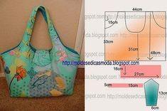 Sewing Hacks, Sewing Tutorials, Sewing Patterns, Knitting Patterns, Patchwork Bags, Quilted Bag, Bag Quilt, Diy Handbag, Diy Purse