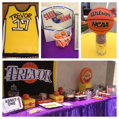 trevors 17th lakers birthday party