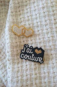Tissage Brick stitch, J'ai couture, diagramme, Frénésie et moi