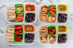Pizza rolls, and leftover sandwiches