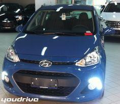 Nuova Hyundai i10 login 2014 Blu  http://www.youdrivecars.it