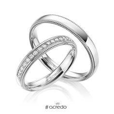 09bb18721b9f Alianzas de oro blanco o en platino con diamantes  alianzas  boda  oroblanco   platino