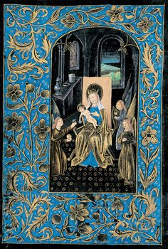 Virgin and Child | Book of Hours (The Black Hours) | Belgium, Bruges | ca. 1480 | The Morgan Library & Museum