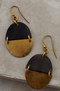 pretty navy and gold drop earrings 25% off with HOLIDAY25 #anthrofave #BlackFriday http://rstyle.me/n/t7uqvr9te