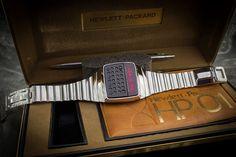 HP-01 smartwatch & calculator designed by hewlett-packard engineers in 1977