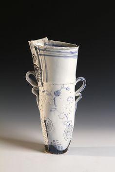 "JosieJurczenia, ""dish cloth vase"""