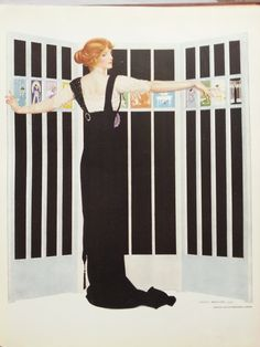 1912 print by C Coles Phillips Fadeaway Girl