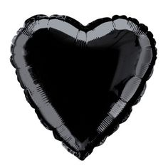 "18"" Foil Black Heart Balloon.  Perfect For Anti-Valentine's Day ~ Michael's"