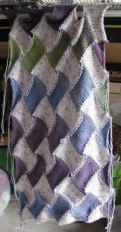 Machine Knitting Fun: technique                                                                                                                                                     More