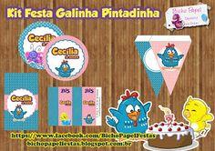 Kit Festa Galinha Pintadinha Para Imprimir (Grátis)