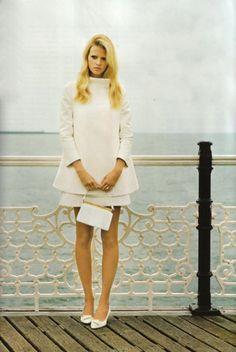 pretty white coat