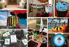 Some great ideas that can be adapted to a pirate themed classroom.  I love the ribbons!