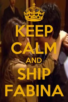 KEEP CALM AND SHIP FABINA