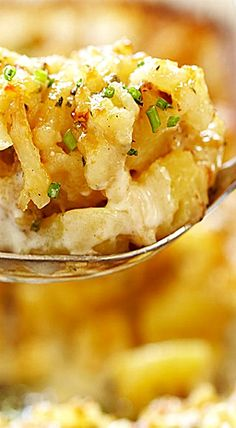 Delmonico Potatoes  - think au gratin potaotes but better!  ❊
