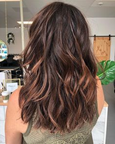 Okay is coming for you with this Barista Brunette Latte goodness using PRAVANA ☕☕☕ Brilliant Brunette, Purple Hair, Barista, Starbucks, Latte, Good Things, Long Hair Styles, Brunettes, Beauty
