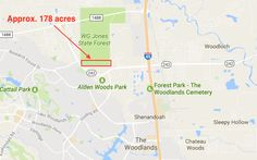 Jones State Forest - The Texas A&M University System State Forest, Forest Park, College Station, University, Texas, Map, Location Map, Colleges, Maps