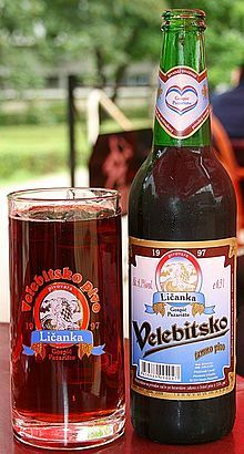 Velebitsko Pivo - beer from Gospic
