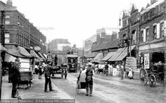 Photo of Walthamstow, St James' Street 1906 Vintage London, Old London, Saint James, Sweet Memories, World History, Back In The Day, Past, Street View, Places
