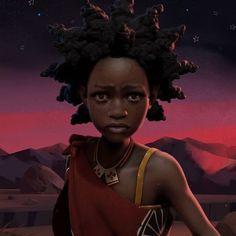 Liyana- animated film by @shofcoker #africandigitalart #africanart #swaziland #africananimation