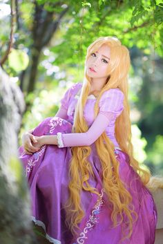 tomiaaa(토미아) Princess Rapunzel Cosplay Photo - Cure WorldCosplay