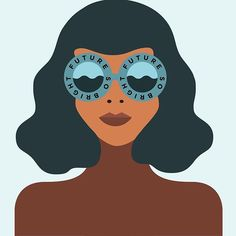 Future so bright I gotta wear shades #illustration #illustrators #minimalist #minimal #happy #drawing #sunglasses #vector #vectorgraphic #creative #turtleneck #pursuepretty #thehappynow #abmlifeiscolor #creative #brownisbeautiful