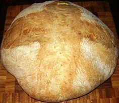 Pane di Grano duro con impasto indiretto Poolish