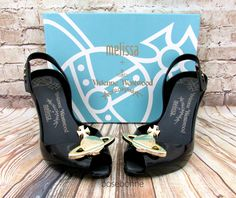 Melissa Lady Dragon XII Orb + Vivienne Westwood Anglomania Black Pink US 8 9 10 | eBay