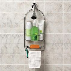 Keep your shower neat and organized with a Large Shower Caddy.