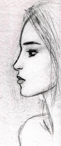 face sketch by dashinvaine