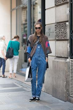 Perfectly layered overalls.