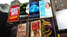 Cartelera de Broadway