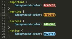 The Live CSS plugin for Sublime Text 2 is quite handy for anyone who deals with color values in HTML or CSS. The plugin underlays the hex, rgb or named CSS color codes with their real color. It works with native CSS, LESS or SCSS.
