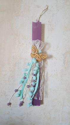 Λαμπαδα Easter Decor, Easter Ideas, Easter Crafts, Palm Sunday, Candels, Candle Sconces, Projects To Try, Mom Presents