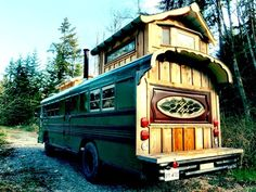 School Bus Conversion... One of my favorite ones by far.