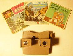 vintage Sawyer's View Master & 9 reels Disneyland Pikes Peak Mother Goose #Sawyers