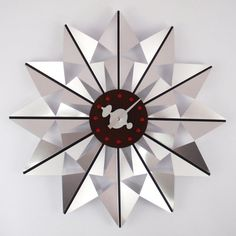 George Nelson Butterfly 20 in. Wall Clock - G111120