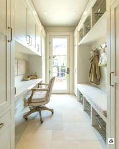what I'm picturing for mudroom layout Delightful contemporary farmhouse takes shape in California wine country Home Office Design, House Design, Mudroom Laundry Room, Mudroom Cubbies, Bench Mudroom, Laundry Area, Entry Way Design, Deco Design, Design Design