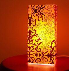 Iluminación con lámparas de papel 3