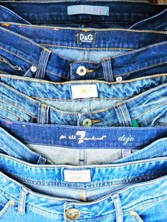 "WHAT is more American than denim? (OK, so some is made ""off shore"") BUT during the month of July ALL denim (imported or domestic) is 25% OFF! Includes Designer and ""brand name"", jeans, jackets, dresses, etc."
