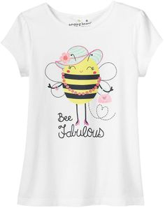 "Jumping beans ® ""bee fabulous"" tee - girls 4-7 on shopstyle.com"
