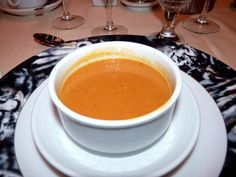 Carnival Cruise Line West Indian Roasted Pumpkin Soup....oh so good!  Searched forever for this recipe!
