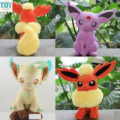 Find More Movies & TV Information about New Espeon Flareon Leafeon Plush Toy Sitting Type Anime Juguetes Peluche Brinquedos Baby Dolls 22 27cm Kids Gift for Christmas,High Quality gift reader,China gift necklace Suppliers, Cheap doll table from Toys in the Kingdom on Aliexpress.com