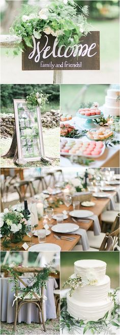 The Grovers; chic outdoor wedding reception