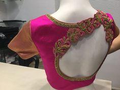 Best Designer Saree Blouse Designs Part_02 - YouTube Wedding Saree Blouse Designs, Best Blouse Designs, Pattu Saree Blouse Designs, Blouse Neck Designs, Hand Work Blouse Design, Stylish Blouse Design, Designer Blouse Patterns, Shilpa Shetty, Hand Embroidery