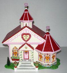 Dept 56 Chapel of Love